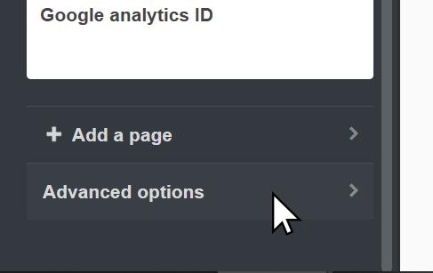 Tumblr Advanced Options