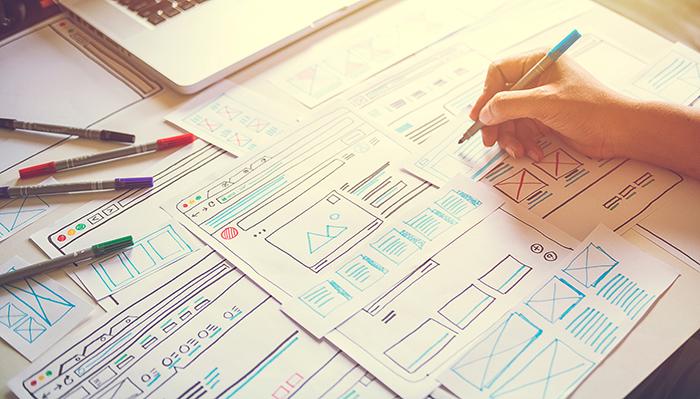 website diagrams and drawings