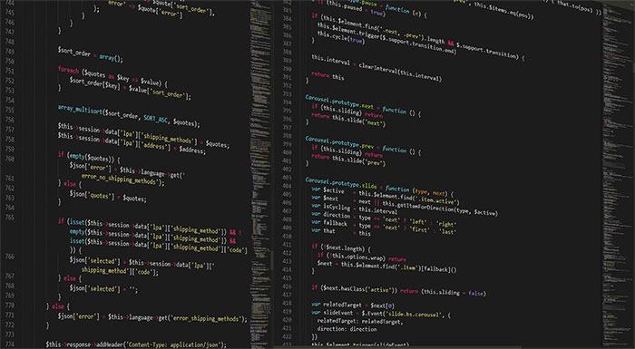 website programming code